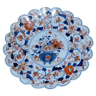 19th Century Japanese Scalloped Imari Charger
