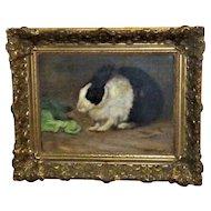 Portrait of a Pet Rabbit, by Christine McGregor