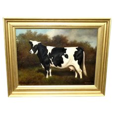 Portrait of a Prize-Winning Cow, by Herbert St. John Jones