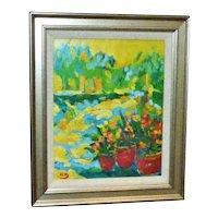20th Century Belgian Impressionist Painting