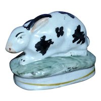 19th Century Staffordshire Rabbit
