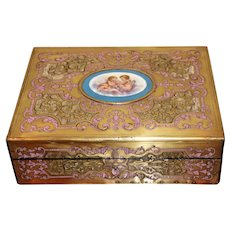 Rare Early 19th Century French Woman's Writing Box