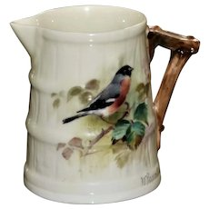 Miniature Royal Worcester Jug, William Powell, Painter