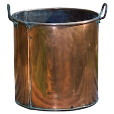 19th Century Victorian Copper Cooking Pot