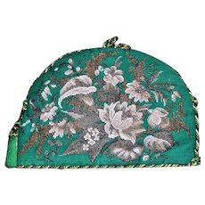 Victorian Mid-19th Century Woolwork and Beadwork Tea Cosy