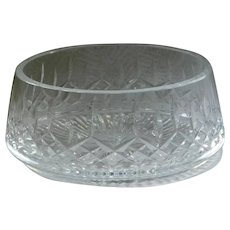 Waterford Cut Crystal Salad Bowl