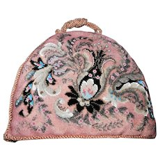 19th Century Victorian All-Beadwork Tea Cosy