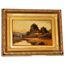 """A Pastoral Landscape,"" by Henry Maidment"