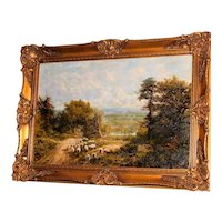 Extensive Surrey Landscape by G.W. Mote