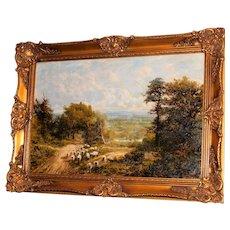 Extensive Surrey Landscape by G.W. Mote