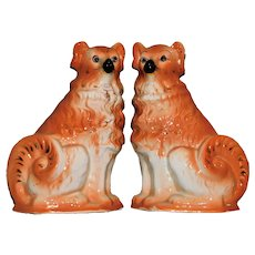 Pair of Bo'ness Pottery Collie Dogs