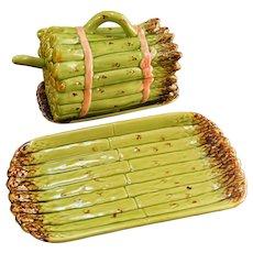 Vintage Bardallo Pinheiro Asparagus Serving Set