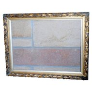 Victorian Wood and Gesso Molded Frame in Original Finish