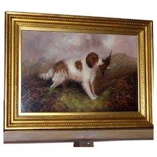 Portrait of a Spaniel, by J. Langlois