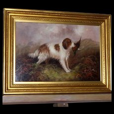 Portrait of a Spaniel, by J. Langlois