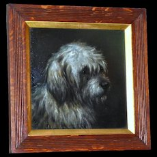 Portrait of a Terrier, by E. Aistrup