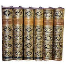 """Six Volumes of """"Good Words,"""" 1865-1870"""
