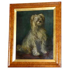 """Portrait of the Terrier, """"Watson,"""" by John Falconer Slater"""