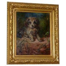 Portrait of a  Terrier, by Robert Alexander