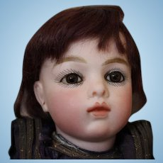 Very RARE #1 Antique French BRU doll!! Hardly known to exist!! Bru Marked shoes, original costume! Chevrot Body, bisque arms!