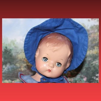 """16 1/2"""" tall Patsy Joan Composition Effanbee Doll! Well Strung, Vintage Doll"""