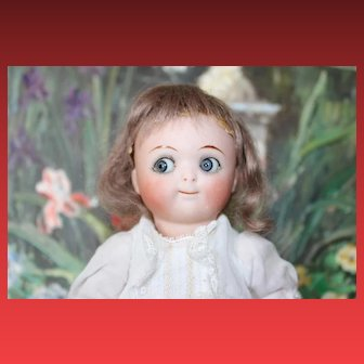 "7"" All Bisque Jointed Googly Kestner! Rare Doll!"