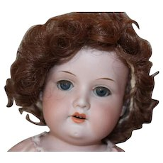 """Armand Marseille #370 Antique doll with hairline behind the ear. 19"""" tall, sweet face! German Bisque Doll"""