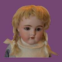 "Beautiful Kestner 154 Doll, mohair wig! 17"" tall!"