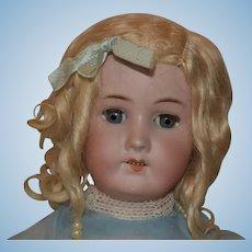 """22 1/2"""" tall B3 doll,unknown maker, German doll"""