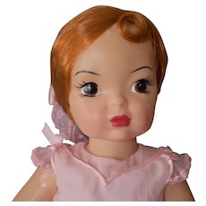 """Terri Lee doll, hard plastic, stands 16 1/2"""" tall, not played with! Great condition!"""