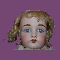 """23""""  German Antique Kestner #154 doll, has hairlines."""