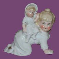 Antique doll figurine!