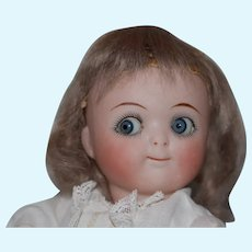 Side glancing all bisque Jointed Googly Doll!