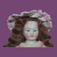 """4 1/2"""" All Bisque Doll"""
