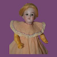 "6"" Petite Kammer Reinhardt Doll, all Jointed Body!"