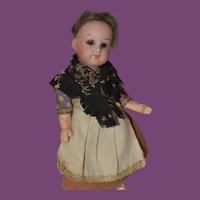"""5 1/4"""" tall German Doll"""