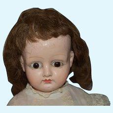 """25"""" Papier Mache Doll Antique"""
