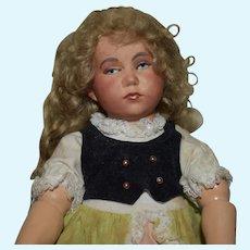 Sweet Rare Belguim  Doll head by DeFuisseaux Rare Head!!
