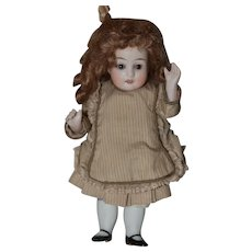 Sweet little all bisque German doll!