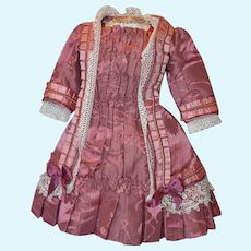Rose color hand made Doll Dress!