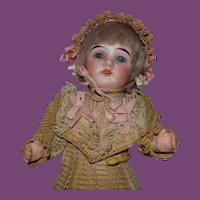"Gebruder Kuhnlenz 9"" tall German Doll"