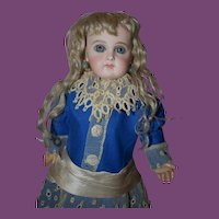 Rare Antique Portrait Jumeau Doll