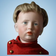 """Very Very Rare, Kammer * Reinhardt Karl, #107 boy doll! He is only 12"""" tall, great Antique Doll!"""