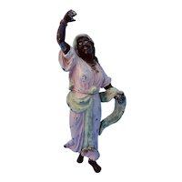 """Charming Dancing Lady Cold Painted """"Bronze"""""""