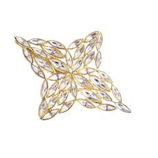 9527dcb6416 Signed Yves Saint Laurent Gold Tone