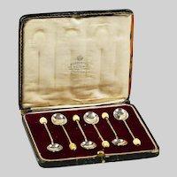 H & H Goldsmith Birmingham Sterling Silver tea coffee spoons