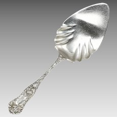 Antique 1897 sterling silver serving Spoon by George W.Shiebler & Co. New York