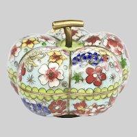 Antique China old Beijing handmade cloisonné Box