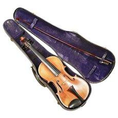 Antique Italy Violin with original case old