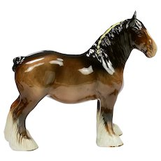 Vintage large Beswick Horse Burnham Beauty model 2309 1972-1982